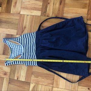Velvet by Graham & Spencer Dresses - VELVET Nautical Stripe Scoop Neck Racerback Mini